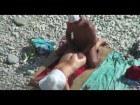 Redhead nudist sex on the beach