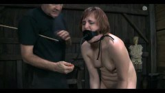 A redhead mature in bdsm action