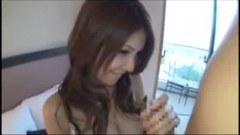 Busty asian getting fingered and fucked