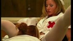 Two lesbian nurses fucking