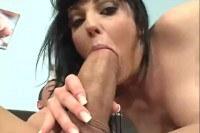 Tina Gabriel big cock cumshot scene