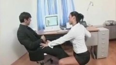 Anal sex in the office with that cure secretary