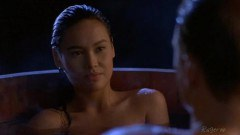 Tia Carrere showdown in Little Tokyo