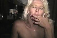 Blonde milf interracial sex