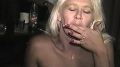 Blonde milf interracial sex
