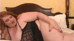 Fat ass redhead girl exposing