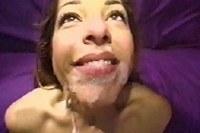 Skank Enjoyed Mouth Cumload