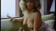Short vintage movie of a blonde blowjob