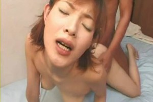 Japanese girl fucked real hard then facialed