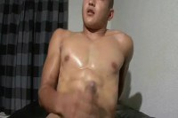 Horny gay twink jerking off on webcam