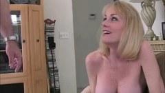 Sexy busty wife cheats on husband