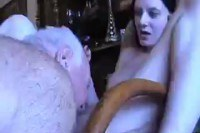 Sweet Teen Fucked by Old Man