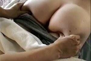 Mature shy women getting massage