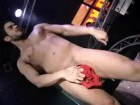 Hunk gays do stripping show