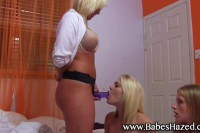 Lesbian house wives threesome