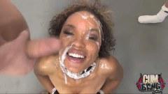 Cum loving ebony slut