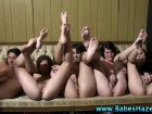 Young lesbian group sex
