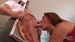 Pizza guy fucking