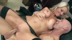 Massive boob secretary screwed by her boss