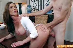 Kendra Lust busty stepmom fucked by a horny young stud