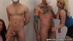 Three babe in a spunk match action