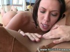 Horny all girl oragy with strapon sex and the hottest oral