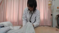 Japanese nurse wanking a patient