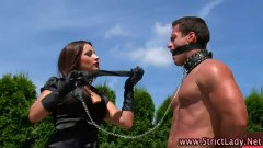Nasty mistress and her slave