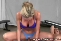 CFNM femdom babes fucked while going for some girl on girl action