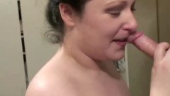 Piss fetish slut sucking cocks and getting nailed