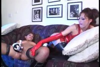 Latex dykes using toys
