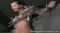 Mature lady whipped!