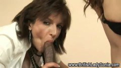 Sexy mature ladies giving head!