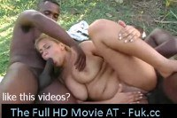 Horny blonde in rough double penetration