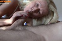 Stunning blonde wife fucked