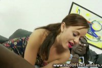 Naughty stepsister gives head to her new brother