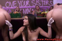 Amateur college girls get initiated in their lesbian ritual