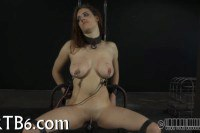 Dirty babe punished in this bdsm