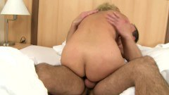 Nasty mature gets her hairy snatch pounded