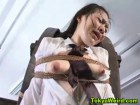 Bound Asian teens humiliated by a femdom