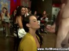Horny CFNM divas giving out head at a party