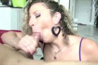 Busty mature in titjob and blowjob