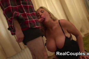 Real wife loves hard cock in her asshole