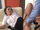 I wish I was fucking this secretary in the ass!