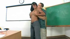 This teacher sure needs some cock
