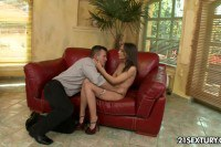 Skinny Nataly picked up and fucked