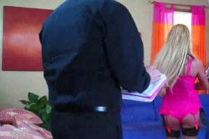 Busty blonde mom fucked