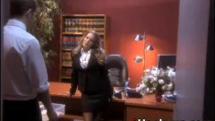 Sexy secretary pounded at the office