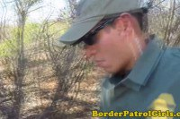 Sexy teen fucked by the boarder patrol