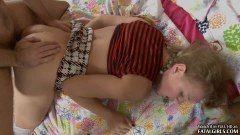 Fatal blonde chick fucked in the ass